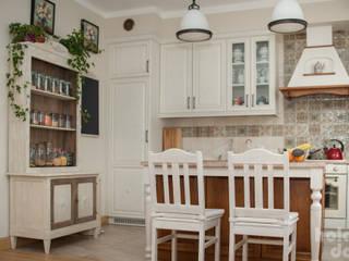 HOLADOM Ewa Korolczuk Studio Architektury i Wnętrz Rustic style kitchen