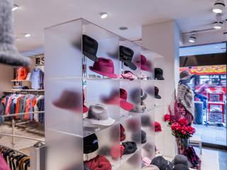Breiter Hut & Mode in München, Deutschland:  Ladenflächen von Oktalite Lichttechnik GmbH