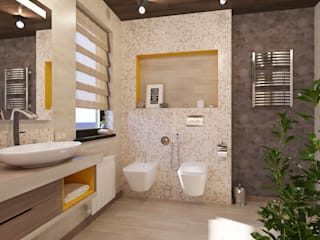 Ванная комната : Ванные комнаты в . Автор – SKILL,