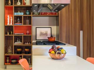 Antônio Ferreira Junior e Mário Celso Bernardes 現代廚房設計點子、靈感&圖片