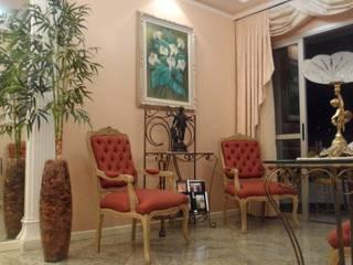 Apartamento Lima Salas de estar clássicas por Marcos Assmar Arquitetura | Paisagismo Clássico