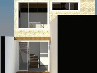 Garajes de estilo rústico de Nádia Catarino - Arquitetura e Design de Interiores Rústico Madera Acabado en madera