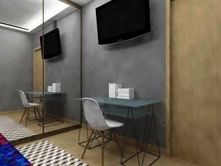 Dormitorios de estilo moderno de Nádia Catarino - Arquitetura e Design de Interiores Moderno