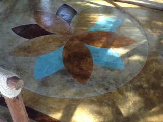 Oxidacion en Contreto:  de estilo  de innova arquitectos kemiko