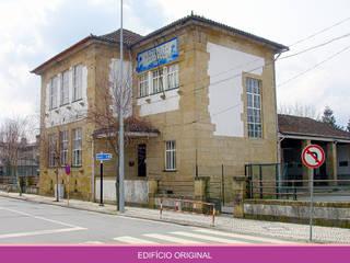 Arquivo Municipal por AET XXI - Projetos de Arquitetura e Engenharia de Tondela, Lda