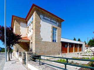 Arquivo Municipal:   por AET XXI - Projetos de Arquitetura e Engenharia de Tondela, Lda