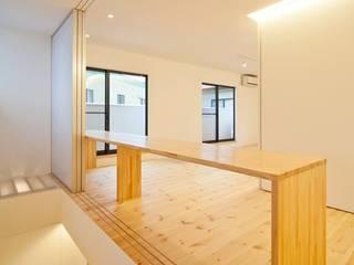 星設計室 Modern media room Wood White