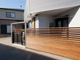 星設計室 Modern houses Wood Wood effect