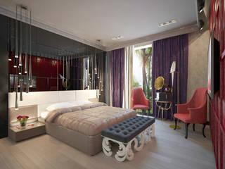 Chambre de style  par Decor&Design, Éclectique