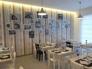 RISTORANTE + PESCHERIA Gastronomia in stile minimalista di luca troiani architetto Minimalista