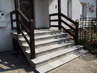 Kamień na schody i tarasy. Śródziemnomorski balkon, taras i weranda od Kamienie Naturalne Chrobak Śródziemnomorski