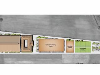 CENTRO ECUESTRE WIELGOPOLAN: Spa de estilo  de Bentabol y Rodrigo Arquitectos