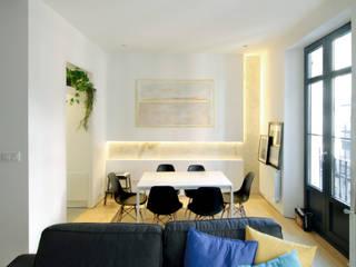 Ruang Makan oleh Garmendia Cordero arquitectos, Modern