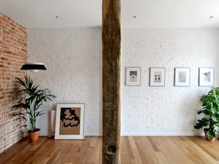 Koridor dan lorong oleh Garmendia Cordero arquitectos, Modern