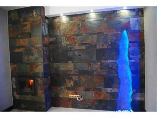 Łupek płytki na ściany, posadzki, elewacje. od Kamienie Naturalne Chrobak Nowoczesny