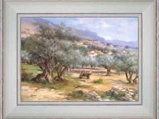 Champs d'oliviers de Provence:  de style  par PROVENCE DISTRIBUTION - ATELIER ARTUS