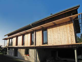 Extension Maison BC Maisons modernes par FAVRE LIBES Architectes Moderne