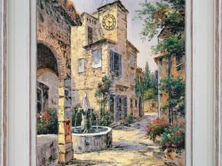 Fontaine du village:  de style  par PROVENCE DISTRIBUTION - ATELIER ARTUS