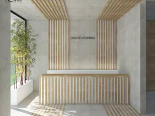 Guest House Luanda Hotéis escandinavos por Lagom studio Escandinavo