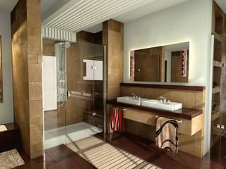 Łazienka w stylu nowoczesnym Nowoczesna łazienka od Archonica Nowoczesny