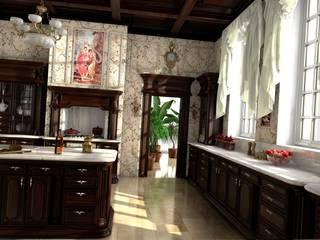 Kuchnia w stylu klasycznym: styl , w kategorii Kuchnia zaprojektowany przez Archonica