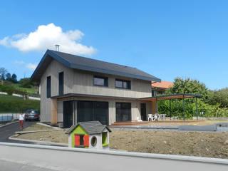 Maison AH: Maisons de style  par FAVRE LIBES Architectes
