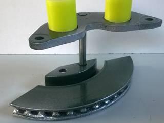 Bougeoirs à partir de pièces automobiles par Les Créations de Dom Industriel