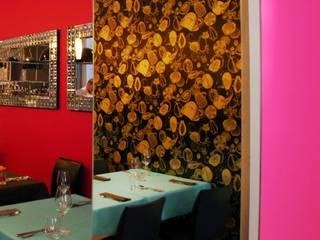 Z DRUGIEJ STRONY LUSTRA: styl , w kategorii Gastronomia zaprojektowany przez KOLORAMA
