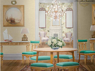 Living Area Modern living room by Devyani Kumari Lifestyle & Designs Modern