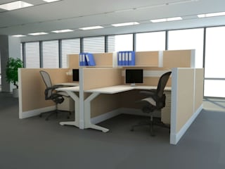 Workstations: modern  by Aristolite,Modern