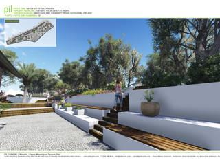 Datça'da Konut Peyzajı Akdeniz Bahçe Pil Tasarım Mimarlik + Peyzaj Mimarligi + Ic Mimarlik Akdeniz