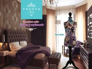 Dormitorios de estilo asiático de Franko & Co. Asiático