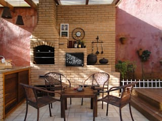 by homify Rustic Bricks
