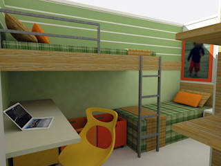 Modern Kid's Room by Nádia Catarino - Arquitetura e Design de Interiores Modern