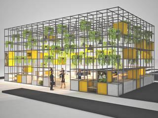 Fuar Standı Tasarımı Pil Tasarım Mimarlik + Peyzaj Mimarligi + Ic Mimarlik Modern Evler