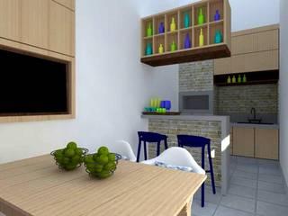 Garajes de estilo rústico de Nádia Catarino - Arquitetura e Design de Interiores Rústico