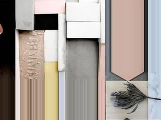POKÓJ DZIENNY w budynku jednorodzinnym : styl , w kategorii Salon zaprojektowany przez KOLORAMA