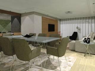 Livings de estilo moderno de Nádia Catarino - Arquitetura e Design de Interiores Moderno