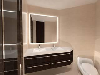 Remodelación Penthouse Baños de estilo minimalista de Vowen Minimalista