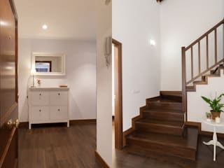 Become a Home Scandinavian style corridor, hallway& stairs