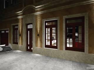 Casas de estilo ecléctico de ARQ. María Florencia Fernández Ecléctico