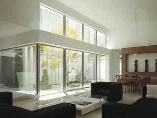 Salon minimaliste par TAQ arquitectura Minimaliste