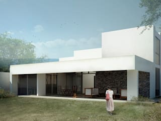Houses by TAQ arquitectura, Minimalist