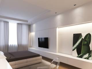 Интерьеры квартиры 100м.кв г. Москва: Спальни в . Автор – graphvision