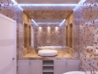Modern style bathrooms by graphvision Modern