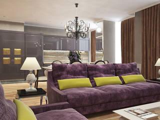 Уютные и просторные апартаменты в Одессе: Гостиная в . Автор – graphvision