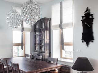Industrial style dining room by Архитектор Татьяна Стащук Industrial