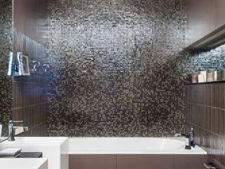 """Квартира """"Лофт с видом"""" Ванная в стиле лофт от Архитектор Татьяна Стащук Лофт"""
