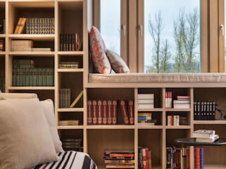 Scandinavian style living room by Архитектор Татьяна Стащук Scandinavian