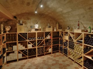 Modern Home Wine Cellar by LUSIARTE Modern
